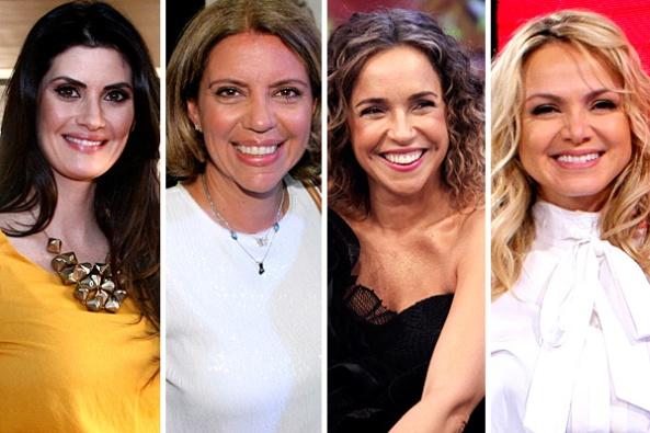 Isabella, Astrid, Daniela e Eliana (Foto: Divulgação/SBT)